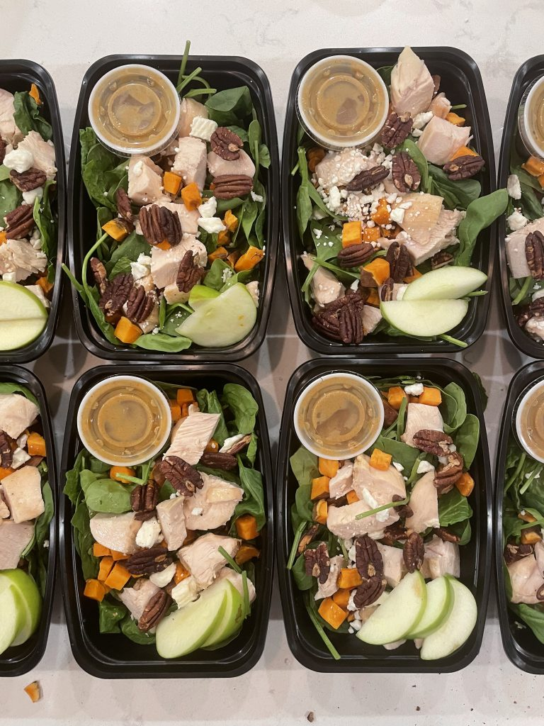 Chicken Apple Sweet Potato Salad