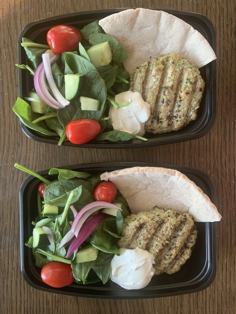 Greek Burger Bowl