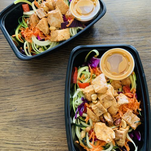 Zoodle Chicken Pad Thai