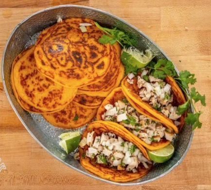 Vegan Flatbread with Sweet Potato