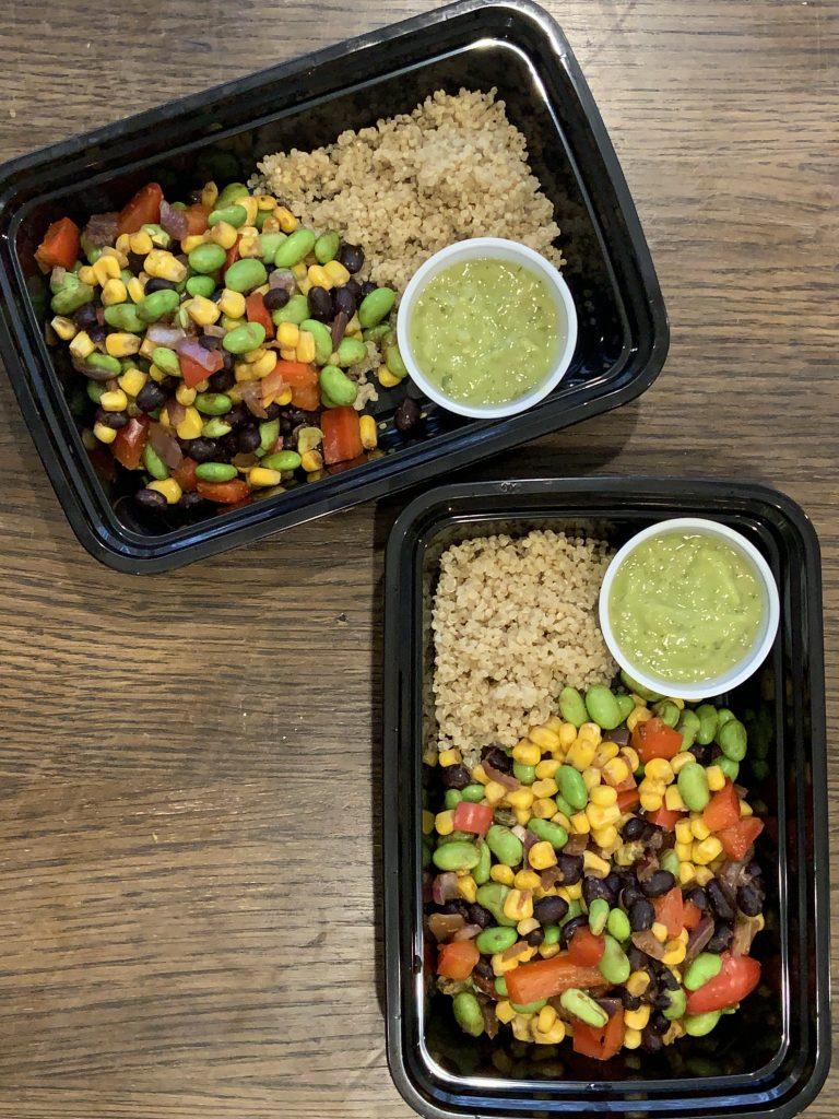 Salsa Verde Quinoa Bowl