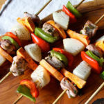 Chicken & Sweet Potato Kabobs